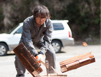 2.Preparation and wood chopping