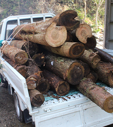 3.Receiving firewood