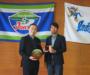 徳島県知事から表敬いただきました