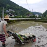【しずく農園だより】無農薬米作り、スタートしました!